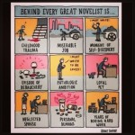 Behind Every Great Novelist…