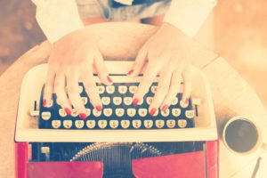 The Joy of Writing…