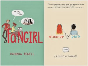 Reviews of Fangirl and Eleanor & Park by Rainbow Rowell